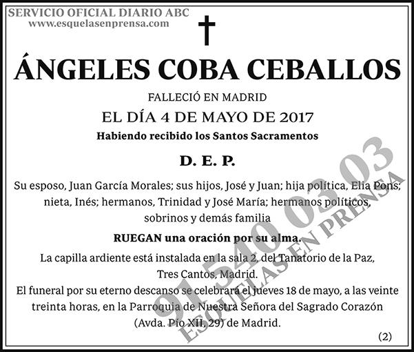 Ángeles Coba Ceballos